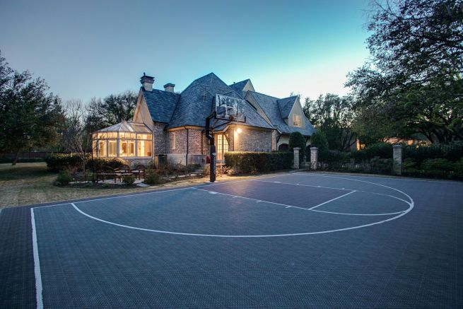 Dallas Home with Basketball Court